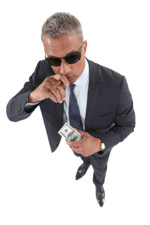 An Italian mobster Stock Photo - 17716175