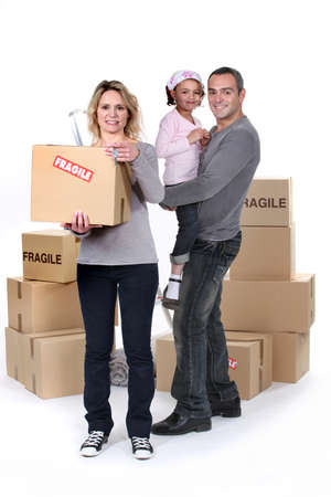 marked: Family moving day