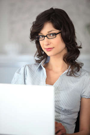 Personal assistant working at home Stock Photo - 17732578
