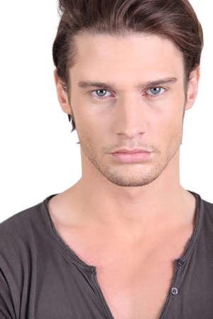 young male model: Modelo masculino joven Foto de archivo