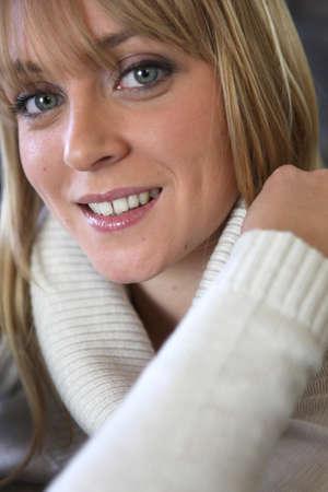 Woman wearing warm clothing Stock Photo - 17732428