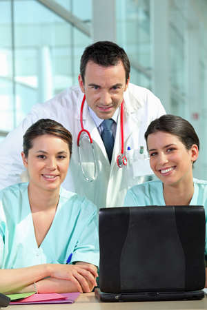A group of medical professionals Stock Photo - 17733060