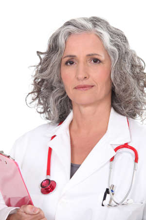 Senior female doctor Stock Photo - 17732950