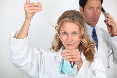 portrait of a lab assistant Stock Photo - 17732960