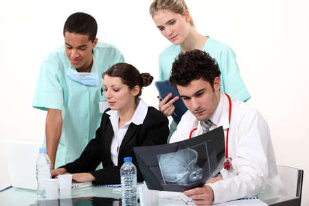 Medical team Stock Photo - 17732829