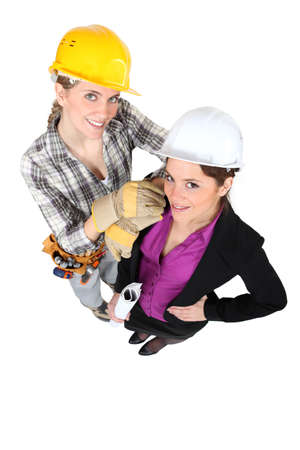women in mens jobs photo