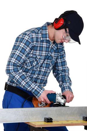 sander: Using a sander