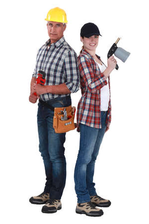 Construction workers Stock Photo - 17904208