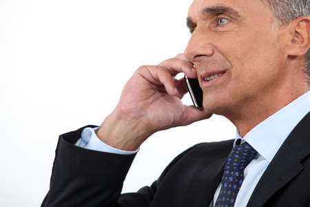 executive on the phone Stock Photo - 17904263