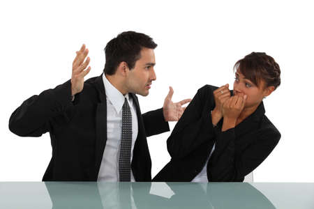 violence in the workplace: Workplace bully
