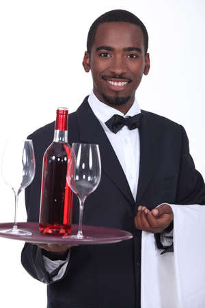 reputed: black sommelier