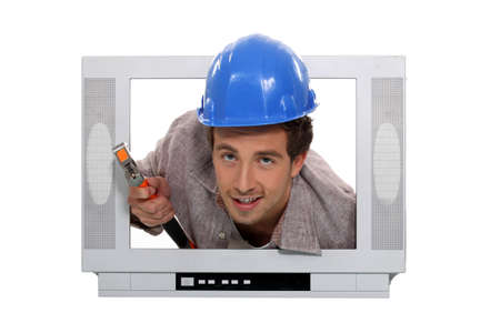 cable tv: Im the cable guy