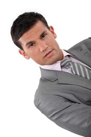 slicker: Suave businessman