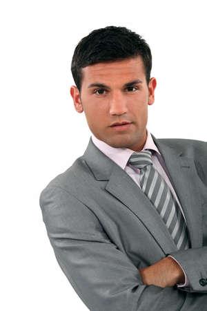 arrogant: Arrogant businessman