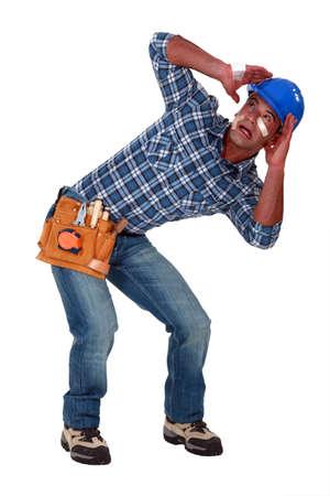 traumatized: A traumatized tradesman