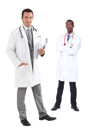 one person only: Two doctors