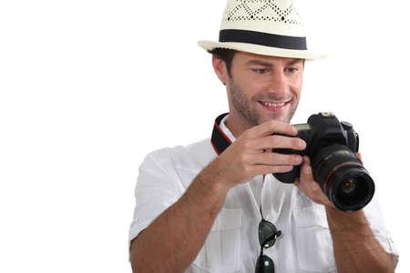 strap: portrait of a tourist