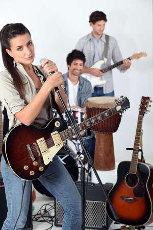 guitarists: Rock band