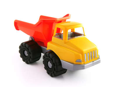 toy truck: Toy truck Stock Photo