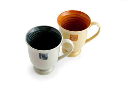 two object: Two mugs