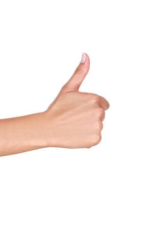 Thumbs-up Stock Photo - 18740489