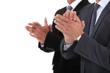 applauding: Applauding