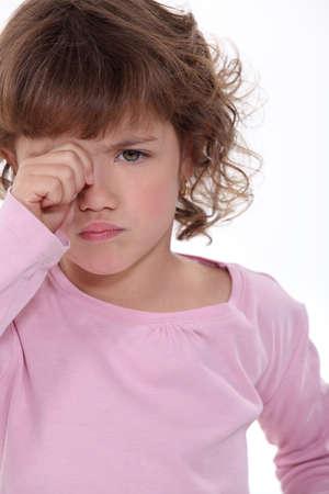 enfant qui pleure: Un enfant qui pleure
