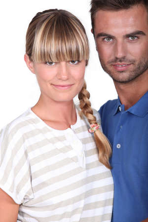 plait: Couple Stock Photo