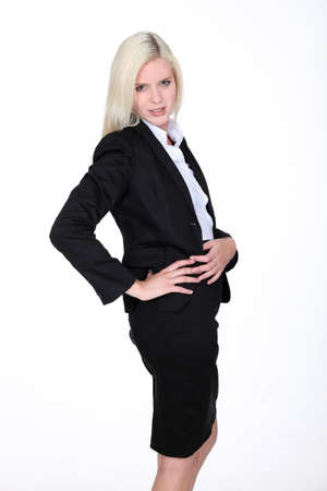 Attractive businesswoman photo