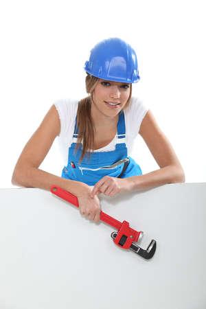 zip tie: apprentice female