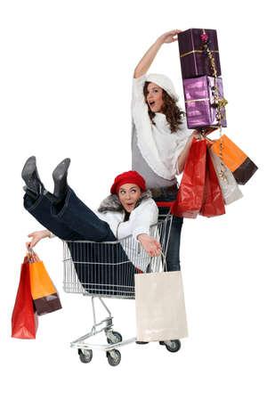 compras compulsivas: Compradores Alegre