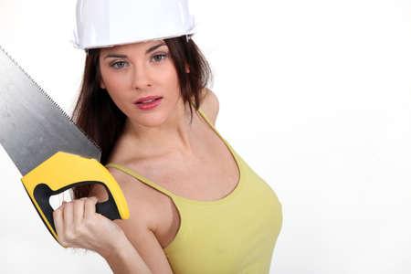 handsaw: Sexy carpenter