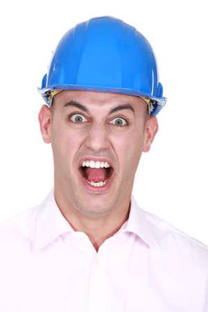 exasperate: craftsman screaming