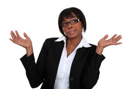 clueless: Clueless businesswoman