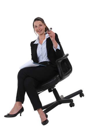 Confident young businesswoman Stock Photo - 19805732