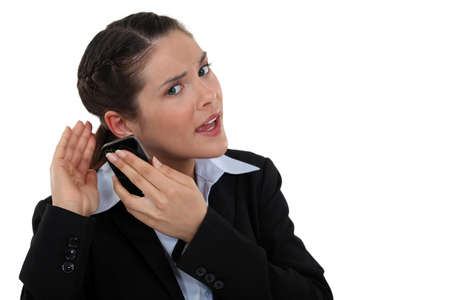 business concern: I cant hear you!