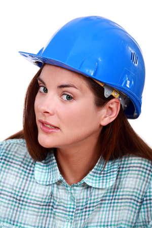 sceptical: A sceptical tradeswoman