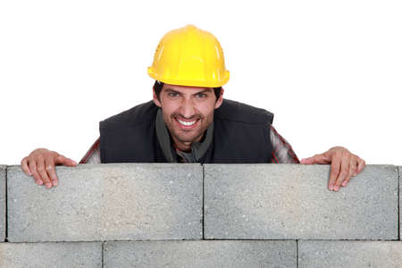 stonemasonry: Man with a wicked grin