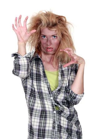 Zombie girl Stock Photo - 19874560