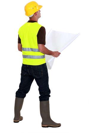 conduct: Roadwork inspector
