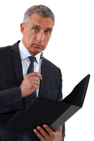 Closeup of a  CEO
