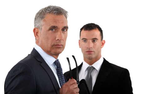 mature businessman: Confident senior businessman