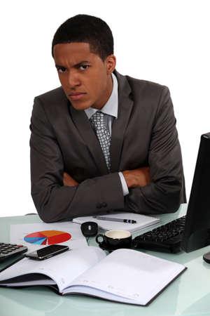 suspicious: Disgruntled Executive