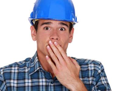 consternation: A terror-stricken tradesman