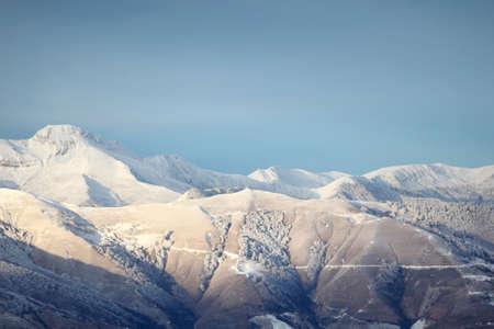sweetwater: Aerial shot of mountain range