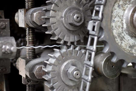 mechanical energy: Machinery cogs