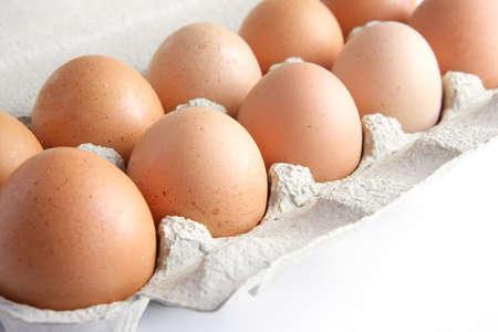 Dozen eggs photo