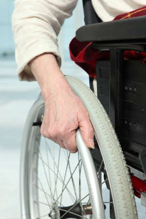 immobility: Close-up of a woman Stock Photo