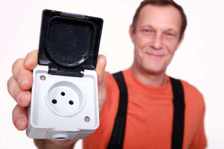 wireman: French plug socket