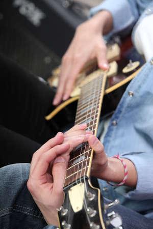 hardrock: Electric guitar lesson